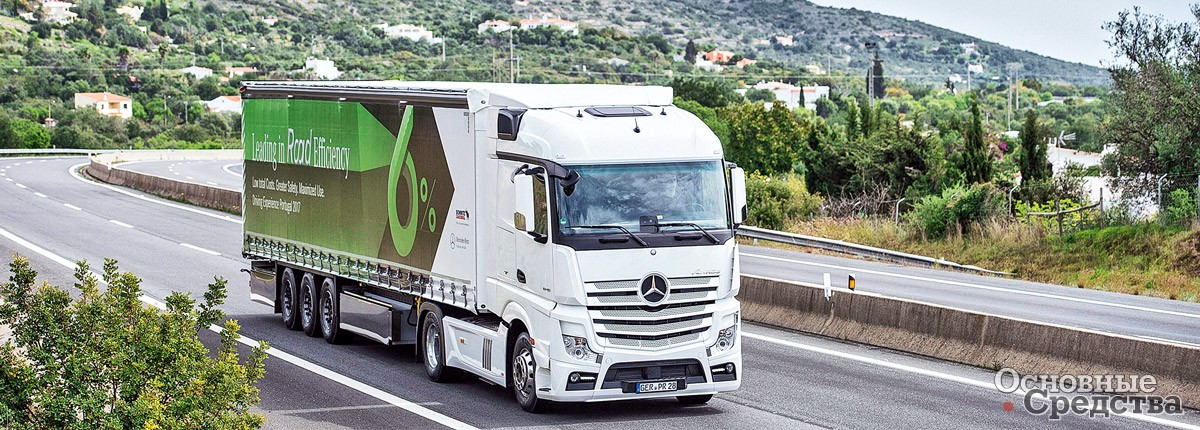 Mercedes-Benz Actros MP4 1853LS