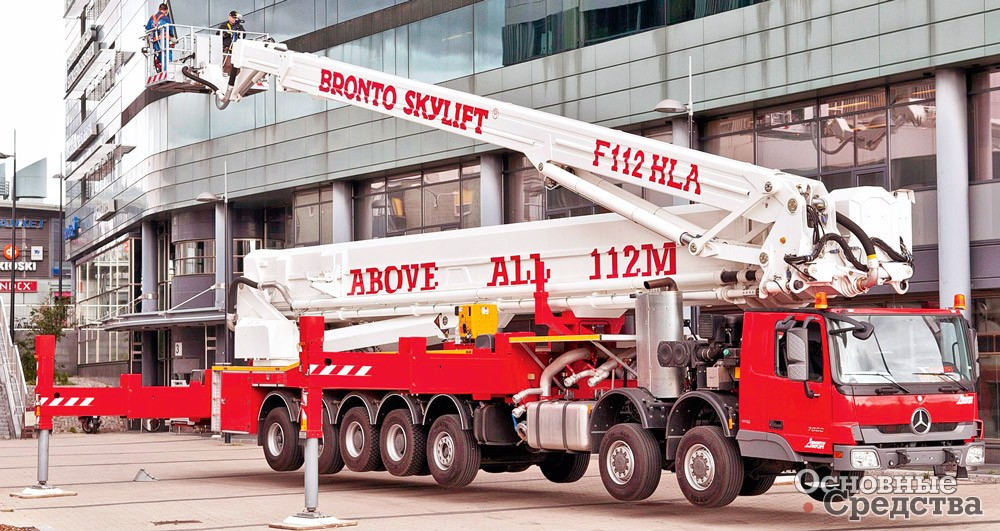 Bronto Skylift F 112 HLA
