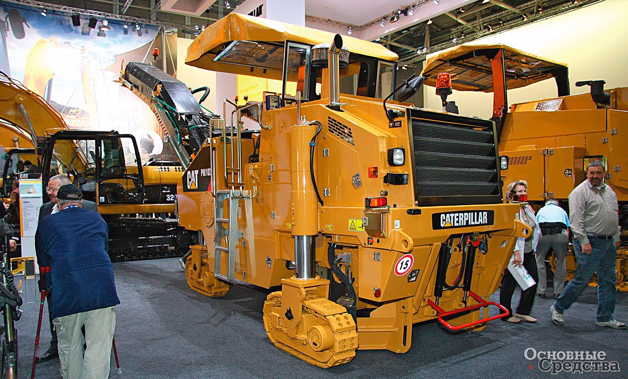 Фреза Caterpillar PM102