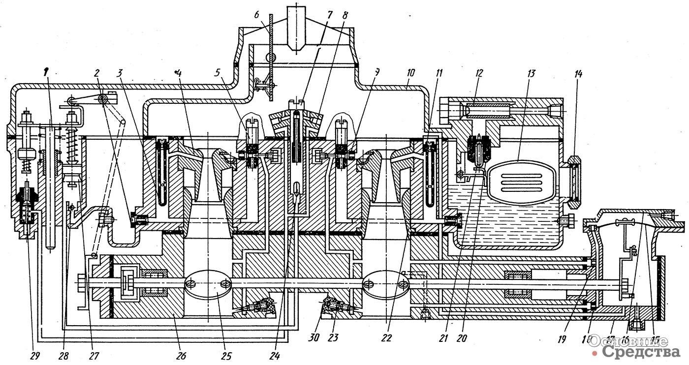 схема вакумных трубок на карбюратор к151