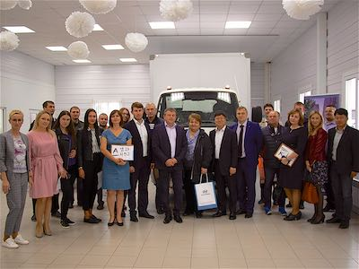Hyundai Truck and Bus Rus расширяет дилерскую сеть в Сибири