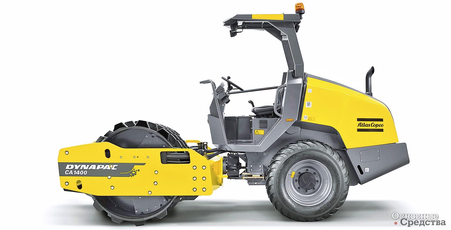 Последнее дополнение к семейству уплотняющих машин Dynapac для грунта – новый каток CA1400