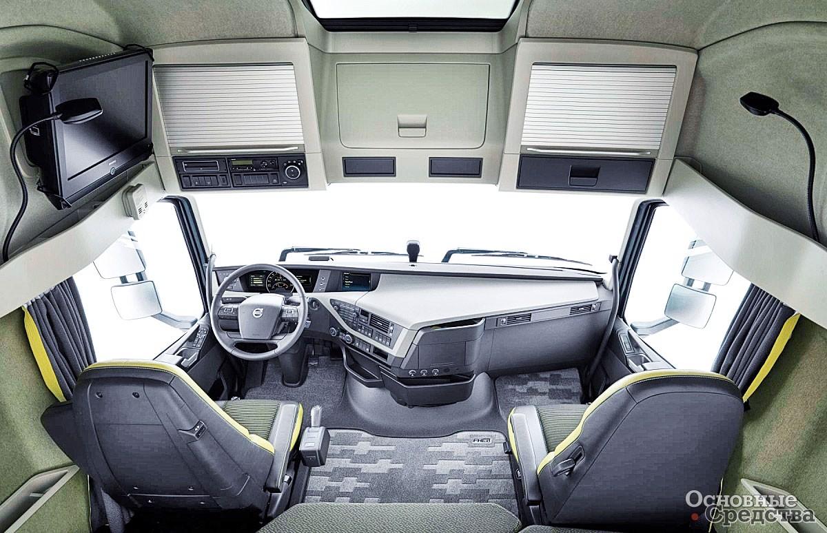 Кабина Volvo FH16-750