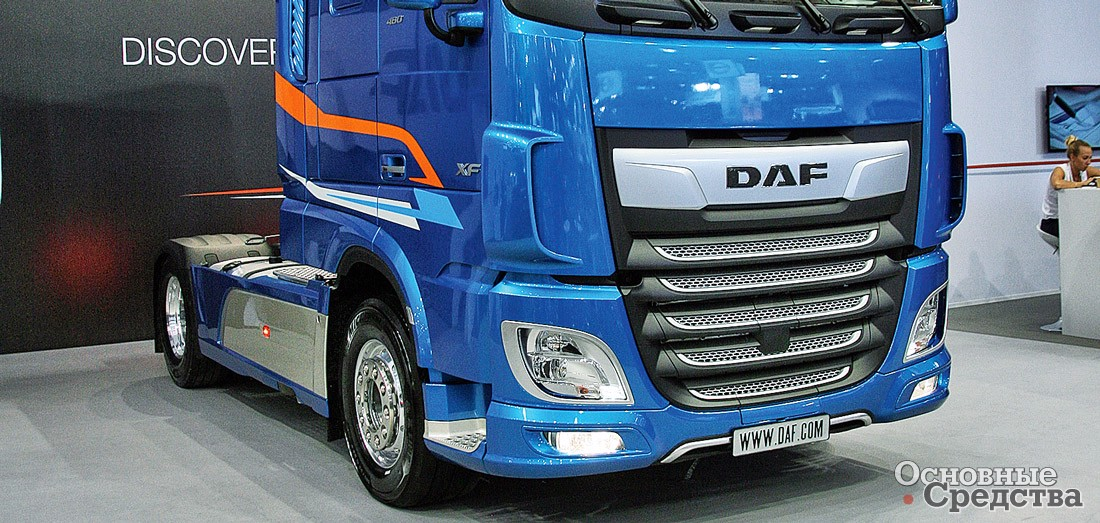 Тягач DAF XF 480 FT