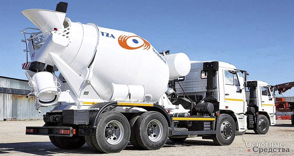 Бетонную смесь доставляют на объект на завод бетон домодедово