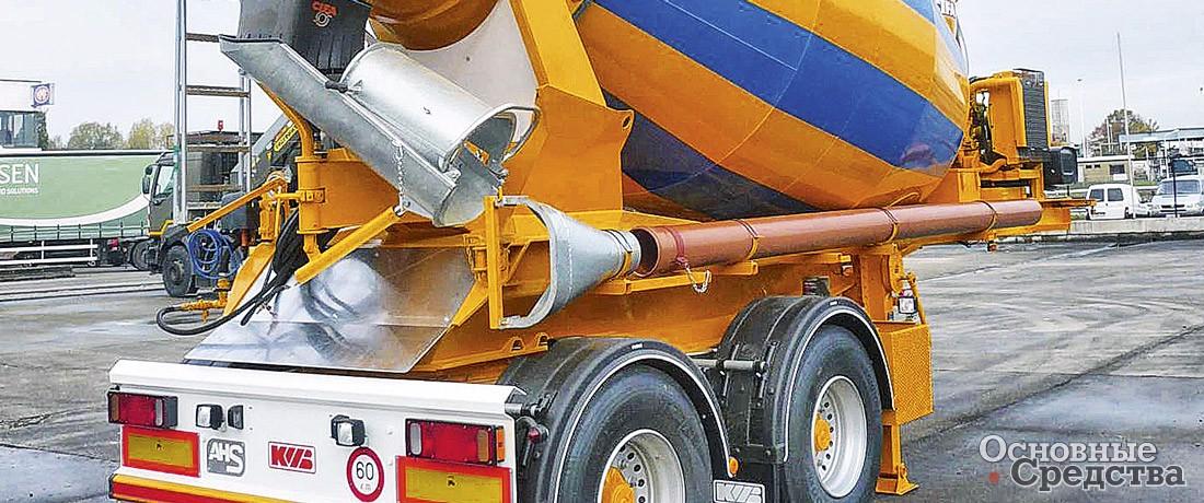 Бетонную смесь доставляют на объект на гост на приготовление бетонной смеси