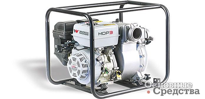Модель MDP3 Wacker Neuson