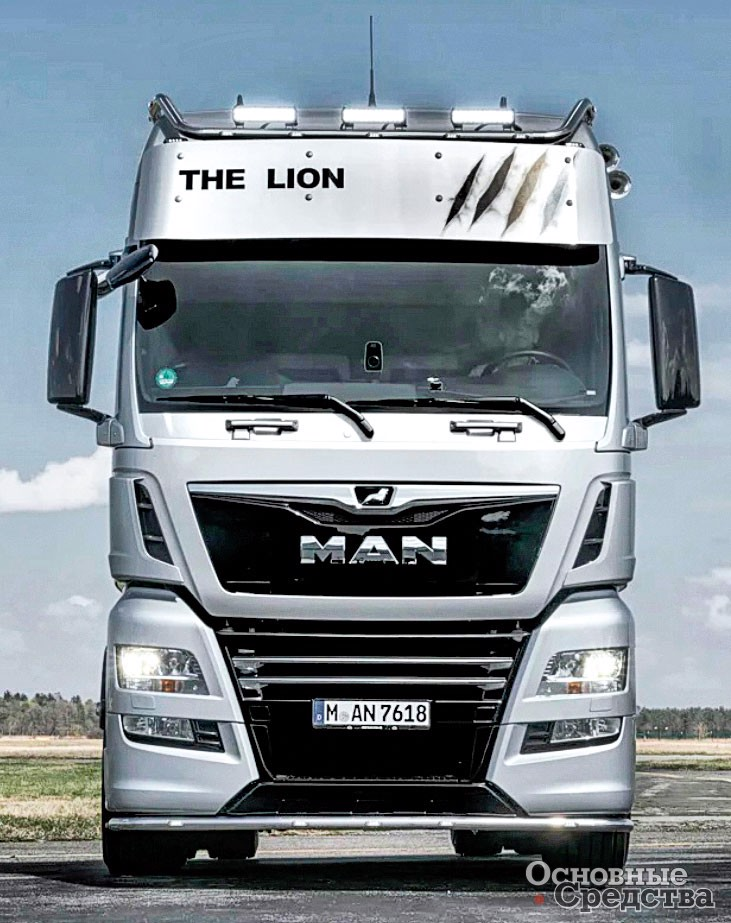 MAN TGX 18.640 The Lion