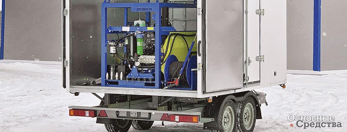 «Посейдон» и изотермический фургон на базе прицепа
