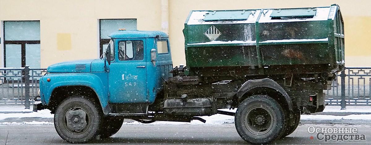 Тросовый мультилифт завода «СпецТранс»