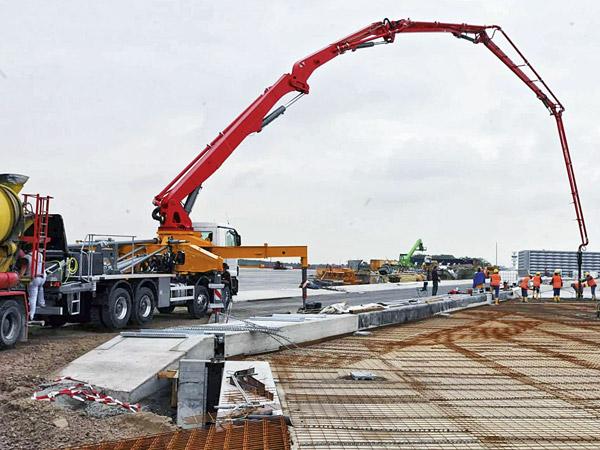 Подача бетона наверх купить бетон в володарске нижегородской