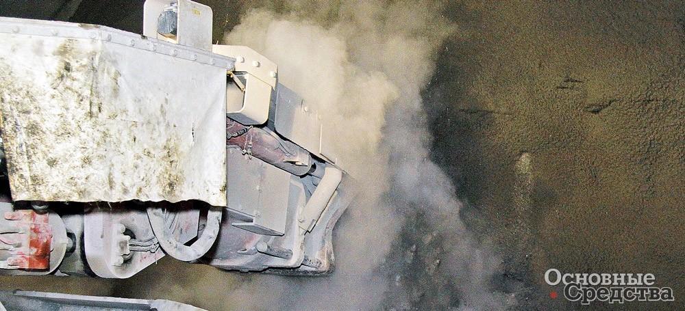 Многие горнопроходческие машины оснащаются дождевальными системами