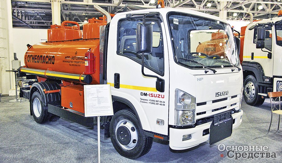 Бензовозы малой кубатуры на шасси легких грузовиков – отличный вариант обеспечения топливом спецтехники, работающей в городе