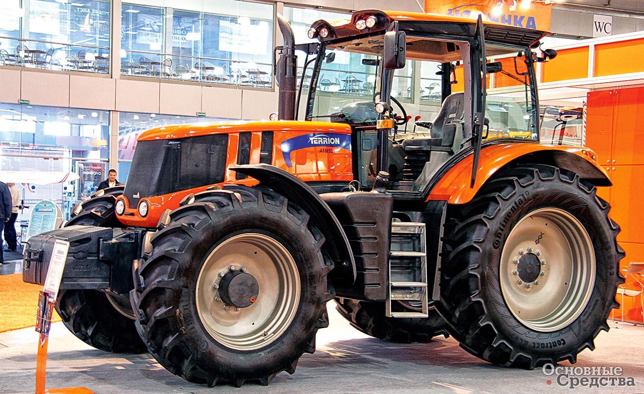 фото новейших тракторов россии и название их качестве модели