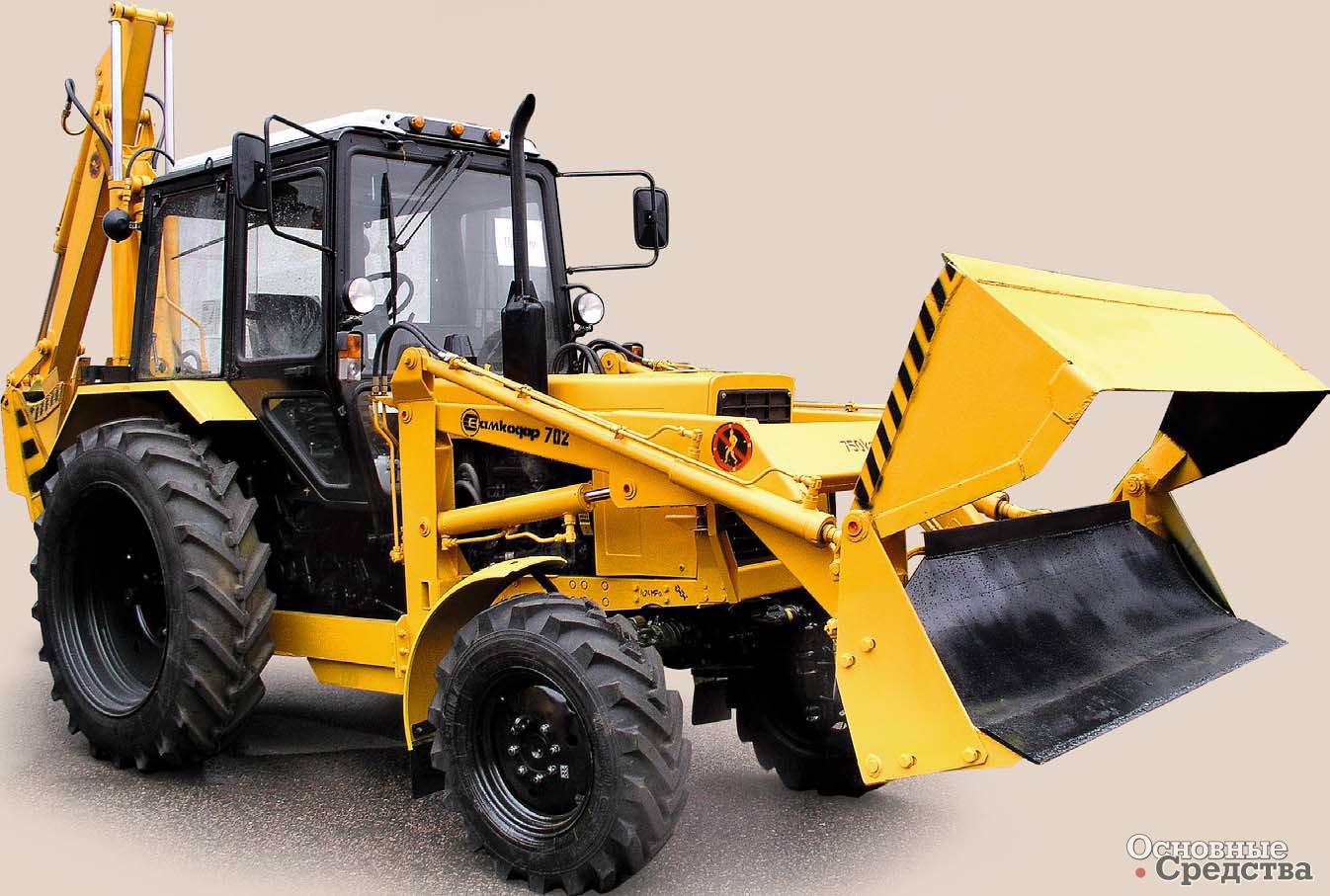 экскаватор погрузчик колесный, производители и популярные модели
