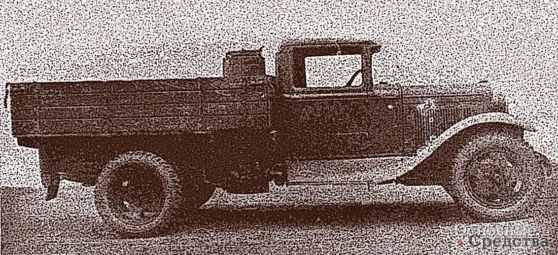 Один из ранних газогенераторов У-6 встроен прямо в кузов «полуторки»