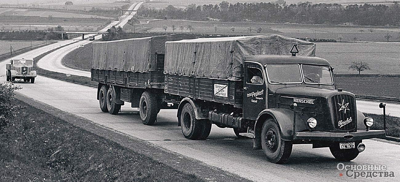 HS 170 в капотной модификации с новой кабиной (1953 г.)