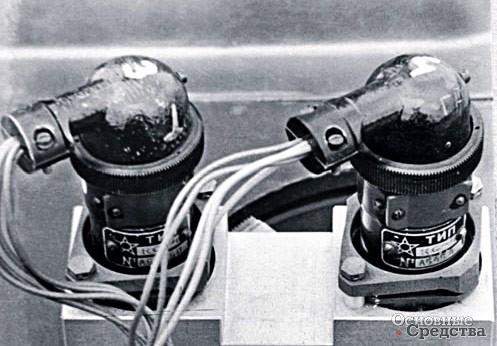 Сельсинный редуктор управления поворотной стойки