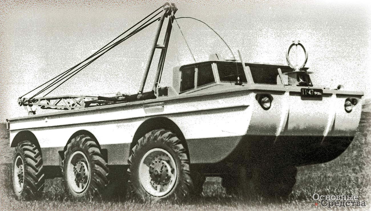 Опытный образец поисково-эвакуационной установки ПЭУ-1 построили летом 1966 г.