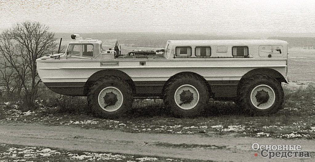 Пассажирская ПЭУ-1М появилась в 1972 г.