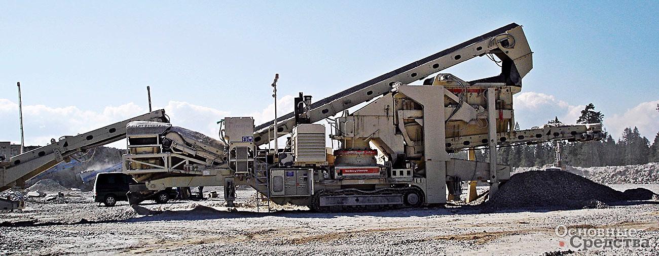 Дробилка щебня в подмосковье мобильный сортировочный комплекс в Южноуральск