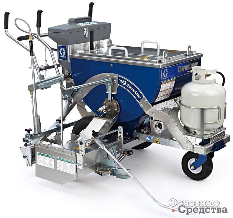 Машина для разметки термопластиком ThermoLazer