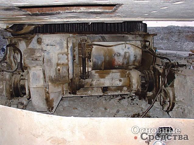 Двигатель хода ЭКГ-5А