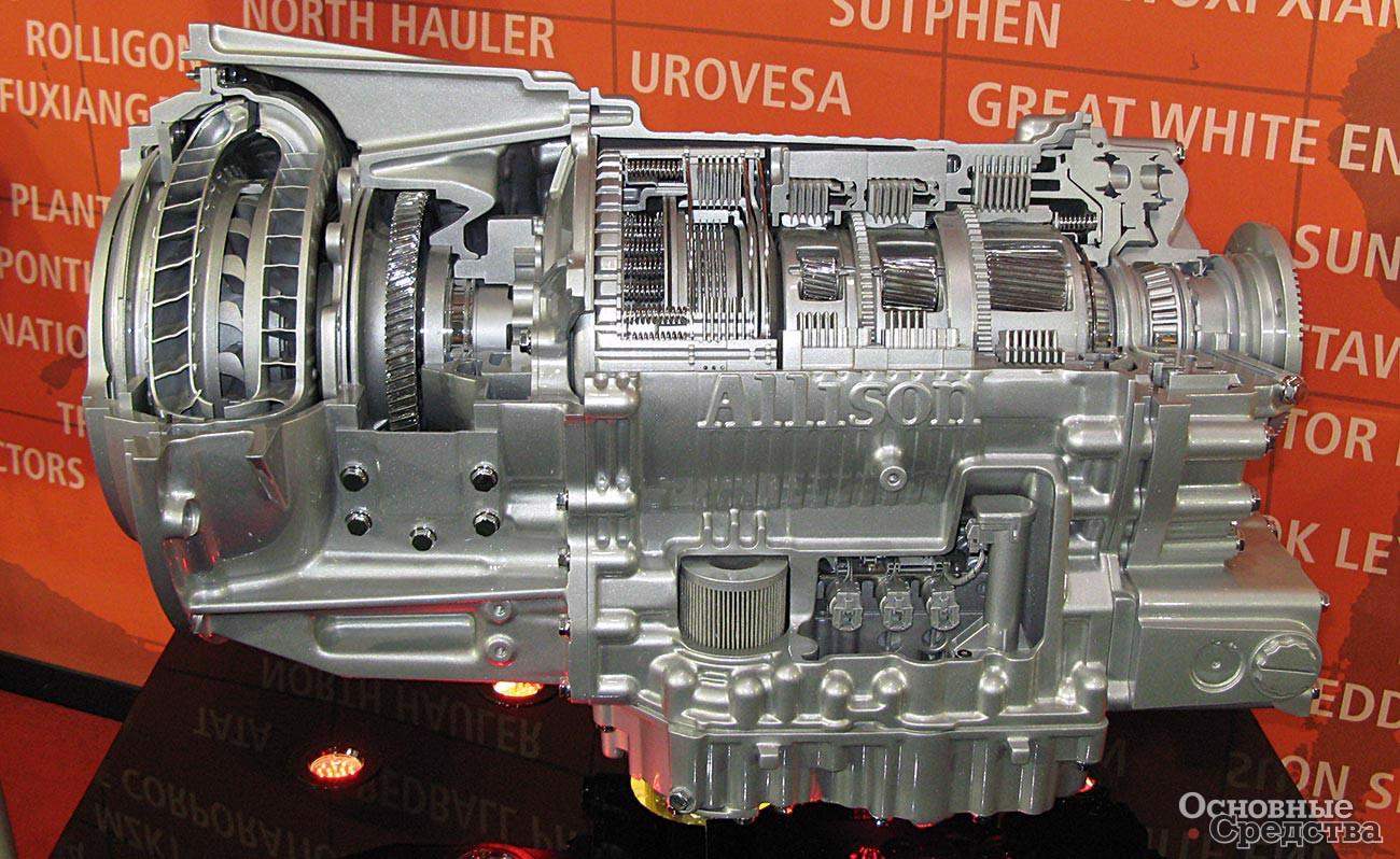 АКП Allison серии 3000 предназначена для коммерческих автомобилей средней грузоподъемности с двигателями мощностью до 425 л.с. Есть 5- и 6-ступенчатые модификации, ВОМ от двигателя