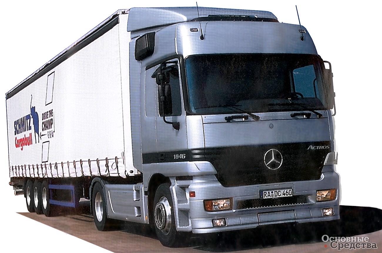 Mercedes Actros 1846 LS