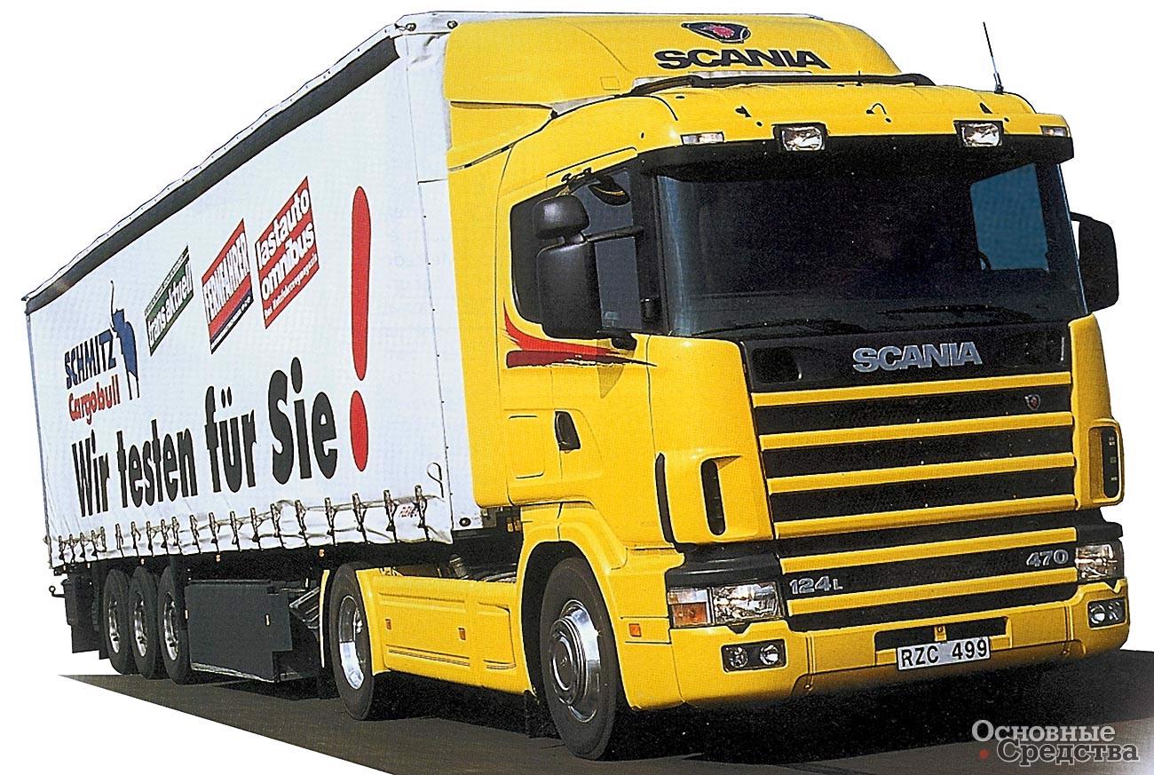 Scania R 124 LA 470
