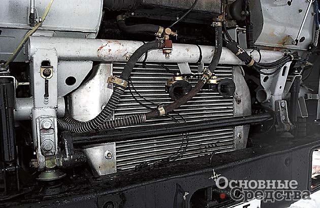 Каркас безопасности и переднее крепление кабины