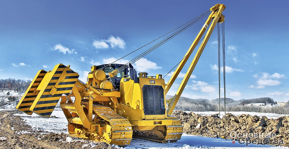 Трубоукладчик Caterpillar PL87 г/п 97 т