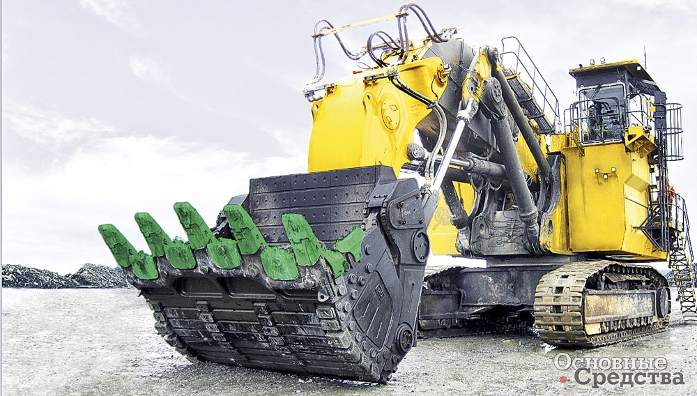 Ковш 28 м[sup]3[/sup] для экскаватора Bucyrus RH340/ Caterpillar 6060 производства компании «Профессионал»
