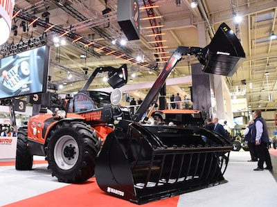 Парад премьер от Manitou Group на Agritechnica 2017